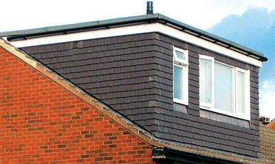 Dormer windows should look like part of the house, rather than an addition
