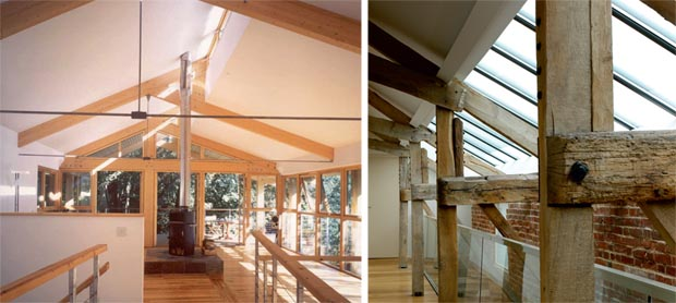 Clerestory windows homebuilding renovating for Clear story roof design