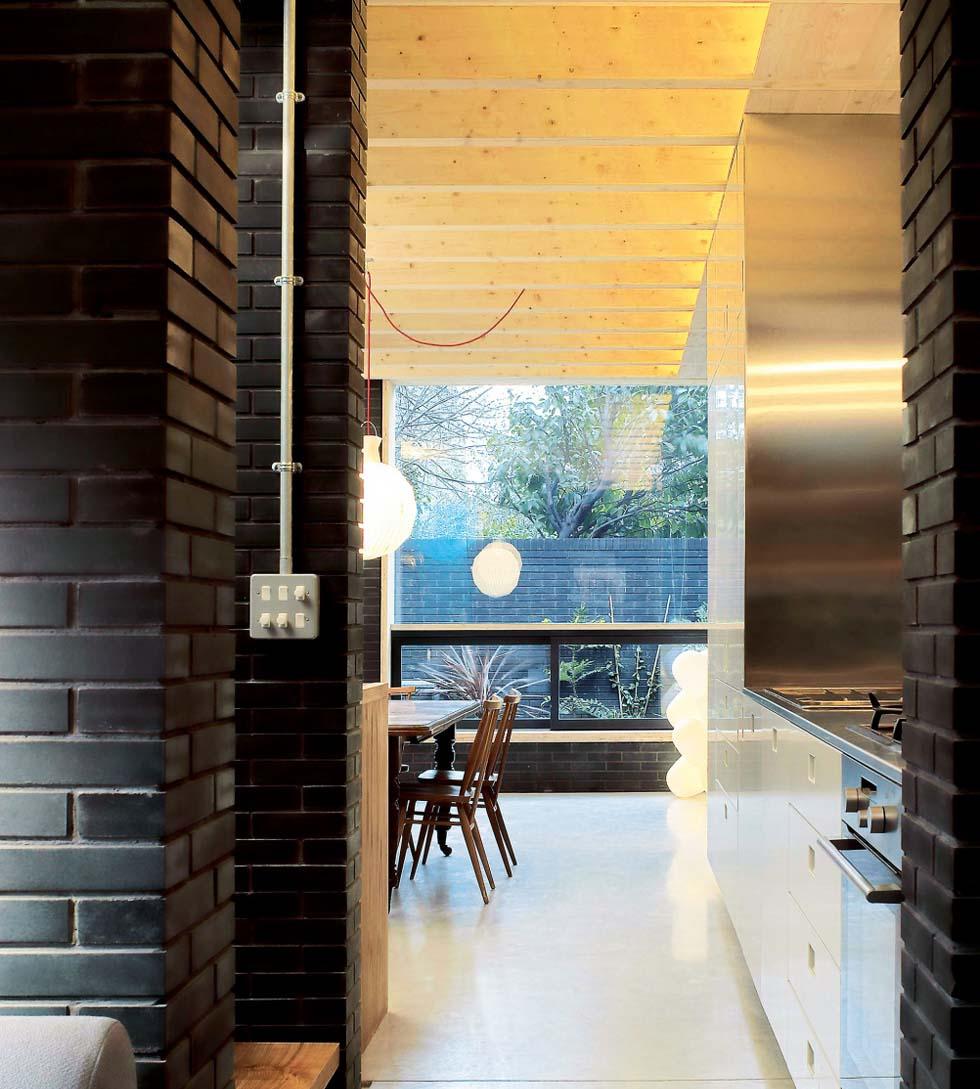 loft-style home in Camden interior shot of kitchen diner