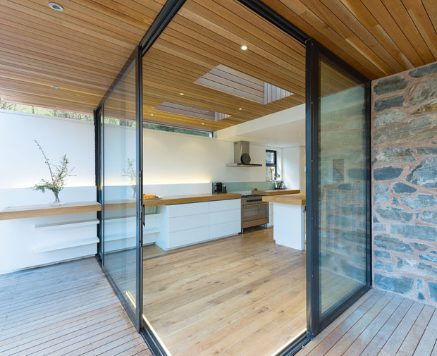 The DMD Group have used uninterrupted cladding and surfaces