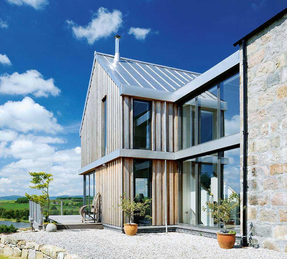 Double-height Velfac glazing