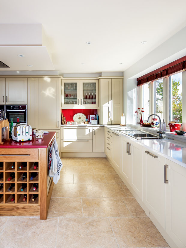 Kitchen in the Cotswold Eco Home