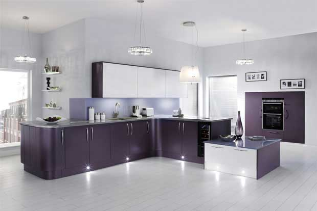 matt finish kitchen with low maintenance cupboards