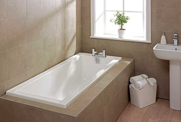 Sanitaryware built in or freestanding homebuilding for Bathroom ideas without bathtub