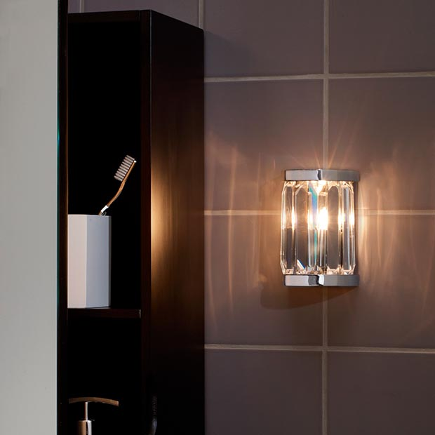 Bathroom Mirror Lights John Lewis bathroom lighting ideas | homebuilding & renovating
