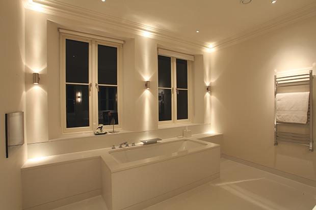 pillar bathroom light from John Cullen  Bathroom Lighting Ideas  Homebuilding Renovating. John Cullen Lighting
