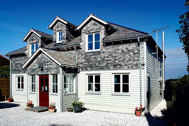 A Baufritz package home in Cornwall