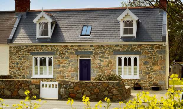 Renovated home in Guernsey