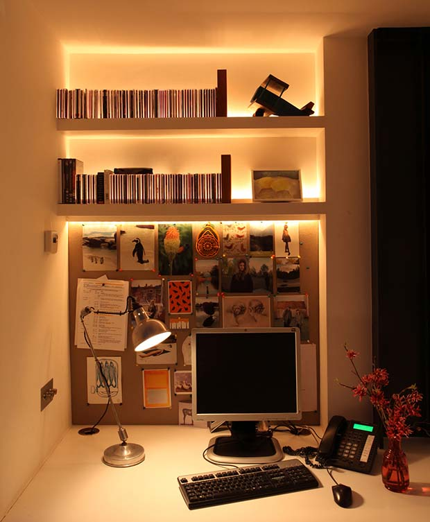Fantastic Creating A Home Office Homebuilding Renovating Largest Home Design Picture Inspirations Pitcheantrous
