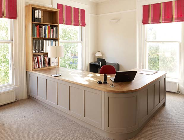 Marvelous Creating A Home Office Homebuilding Renovating Largest Home Design Picture Inspirations Pitcheantrous