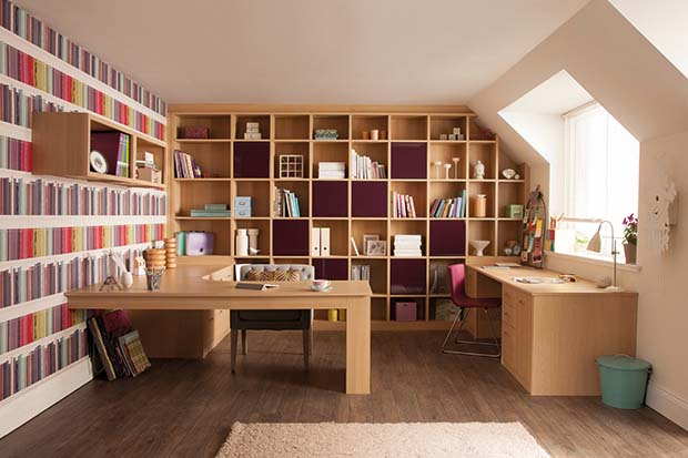 Incredible Creating A Home Office Homebuilding Renovating Largest Home Design Picture Inspirations Pitcheantrous