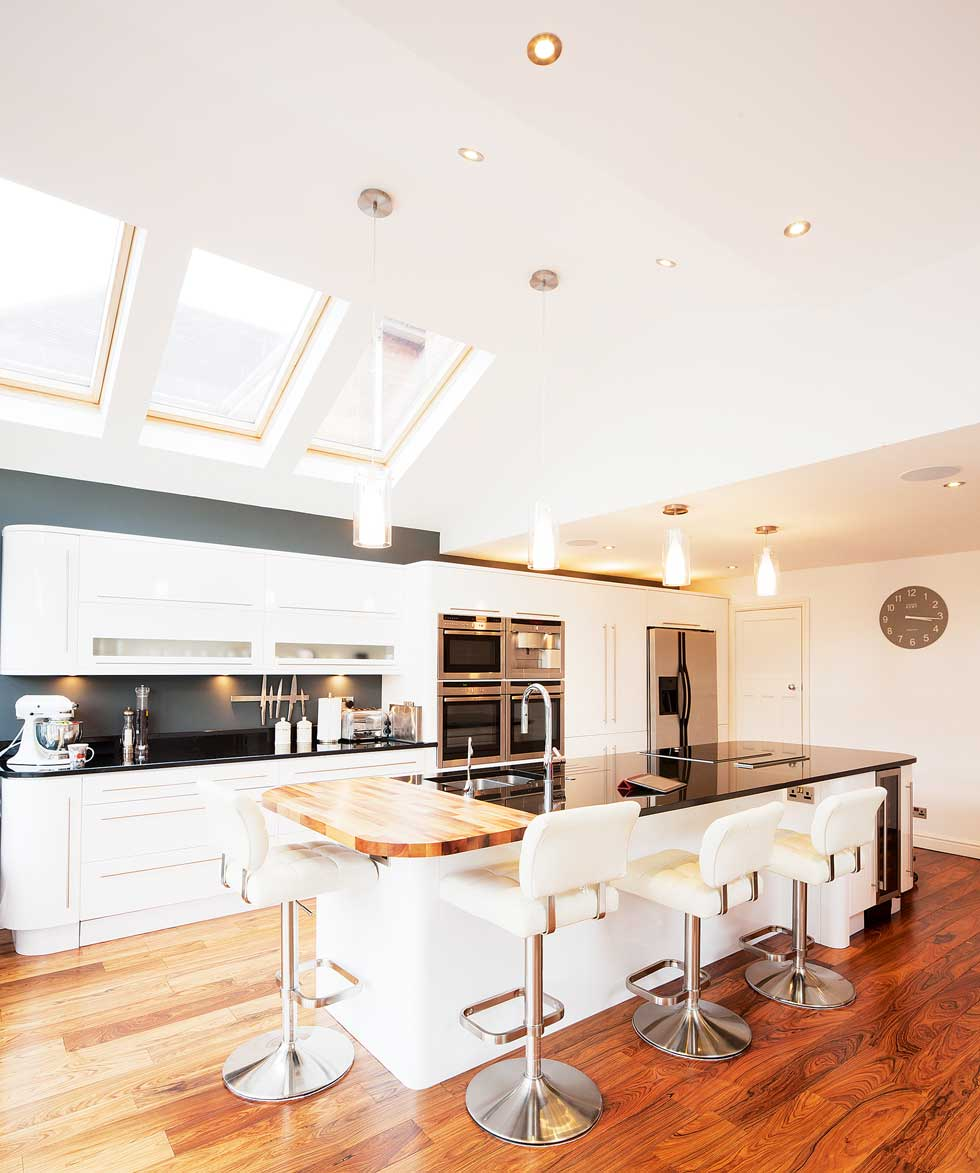 Kitchen Extensions Glazed Kitchen Extension Homebuilding Renovating