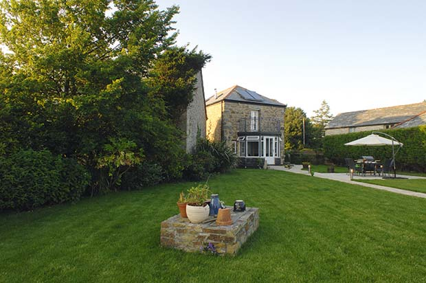 An energy efficient barn conversion holiday home in Padstow Cornwall