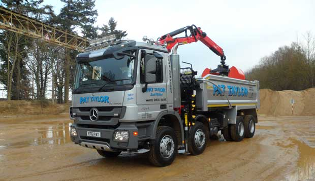 Grab Lorry from Pat Taylor Services