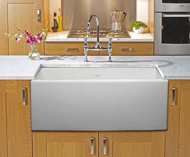 Shaker 800 Fireclay Ceramic Sink By Perrin U0026 Rowe