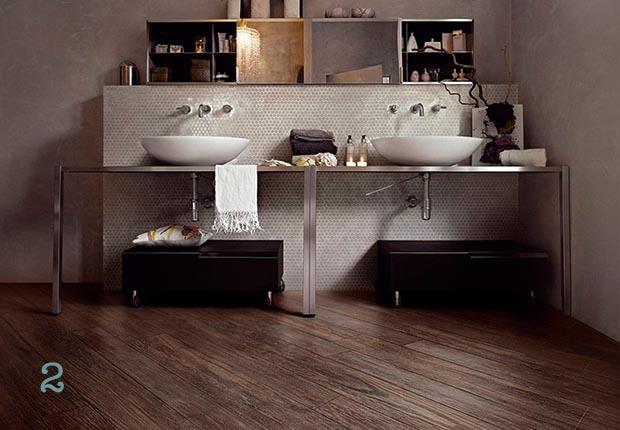 Bathroom Tiles Wood Effect wood floors in bathroom. wood flooring on walls in bathroom