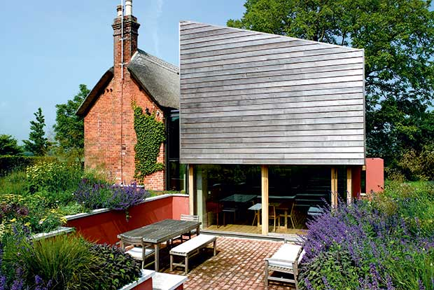 Stan Bolt contemporary extension in Wiltshire