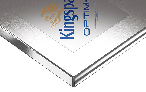 vacuum insulation panel from Kingspan