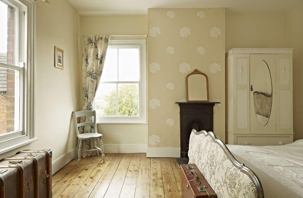 Restored Farmhouse Bedroom