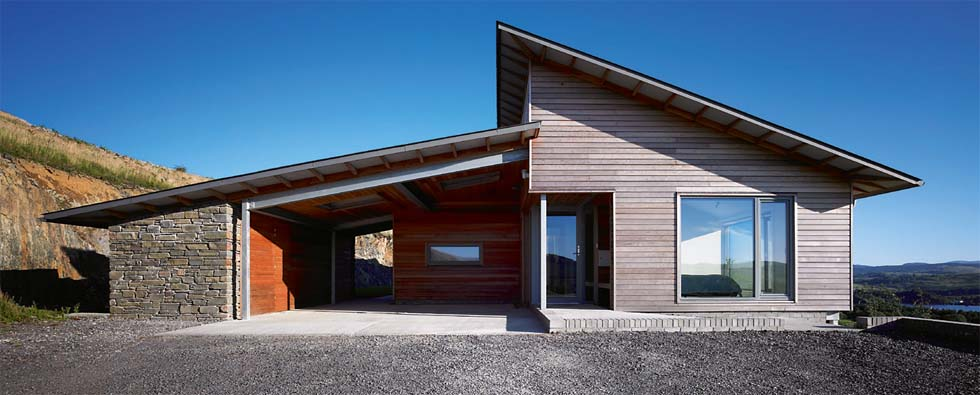 Frank Lloyd Wright Modern Carport : Creating an entrance homebuilding renovating
