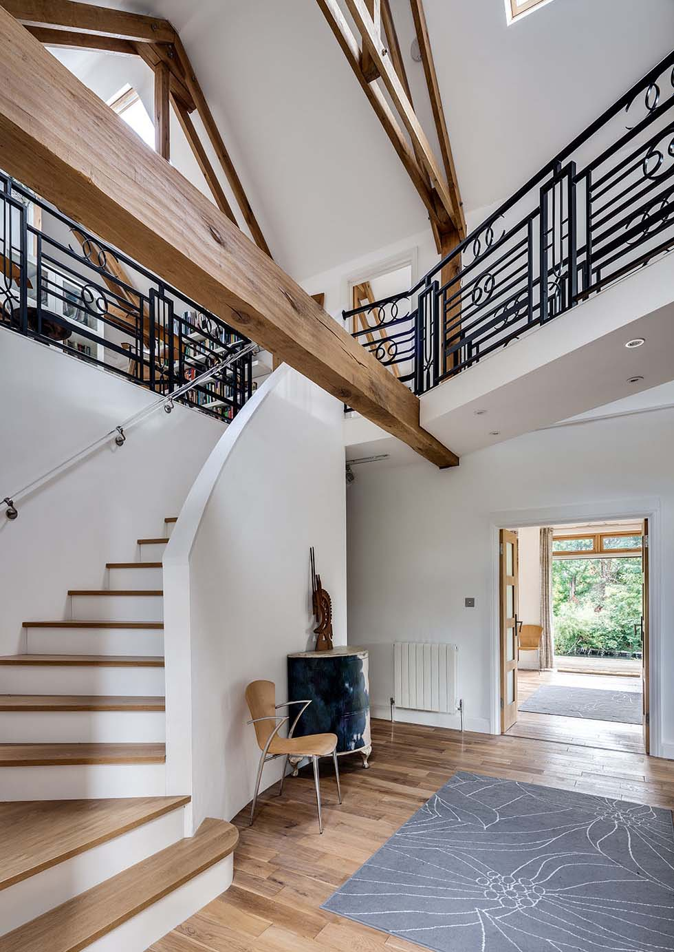 The feature staircase