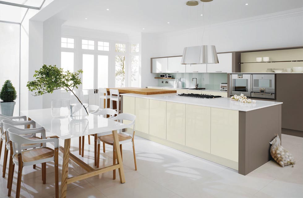 charming 20000 Kitchen Remodel #5: This kitchen is from Metrisu0027 Linear collection and costs from £20,000