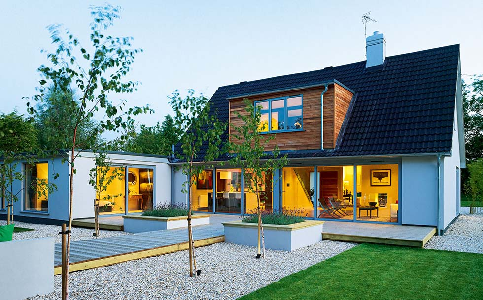 Modern extension design gallery homebuilding renovating for Homebuilding com