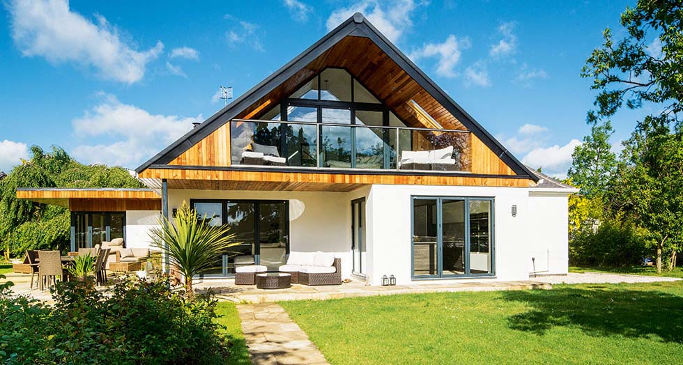 Modern extension design gallery homebuilding renovating for Chalet bungalow designs