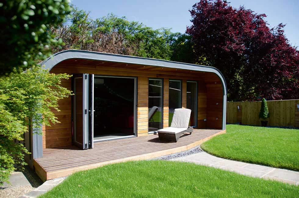 Creating a garden room or outbuilding for Designs for garden rooms