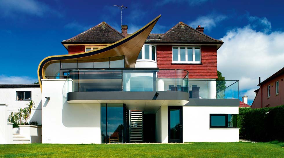 Gold roof radical extension