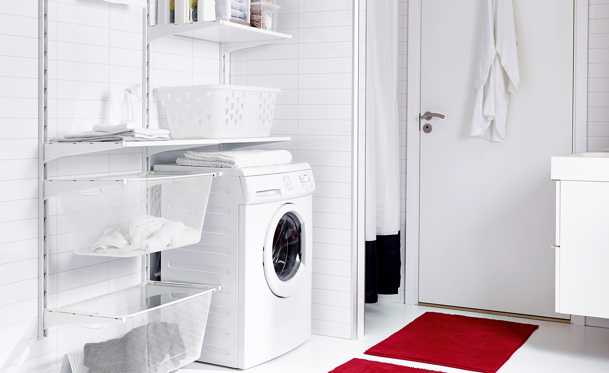 unique ikea laundry room design
