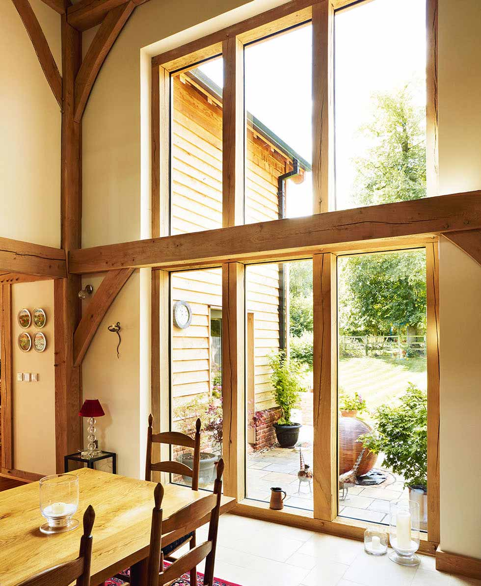 An Oak Frame Home Built For Under 200k: Homebuilding & Renovating