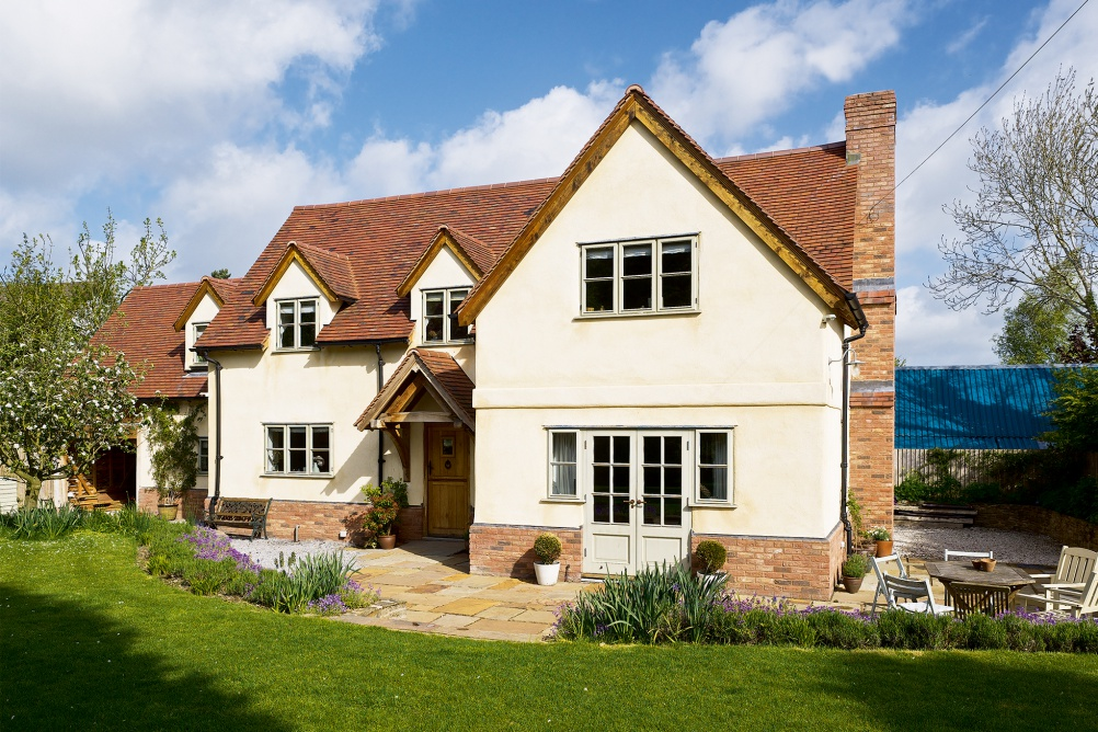 Oak frame home gallery homebuilding renovating for Cottage homes to build