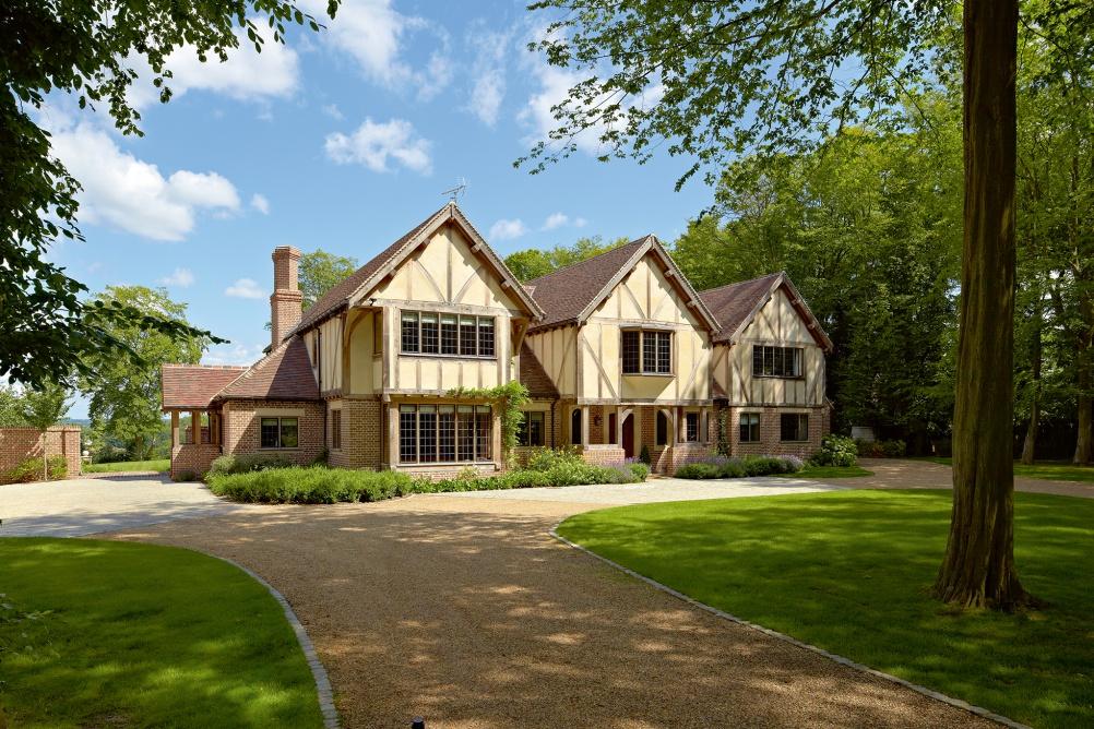 Oak frame home by Oakwrights