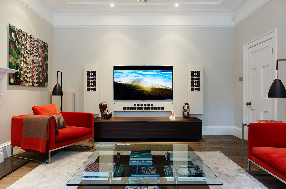 retrofitted home cinema wireless