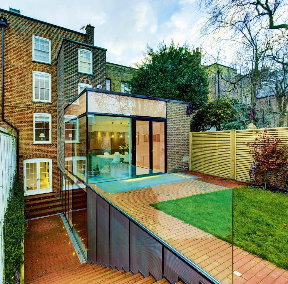 Side return extension design guide homebuilding renovating for Terrace extension ideas