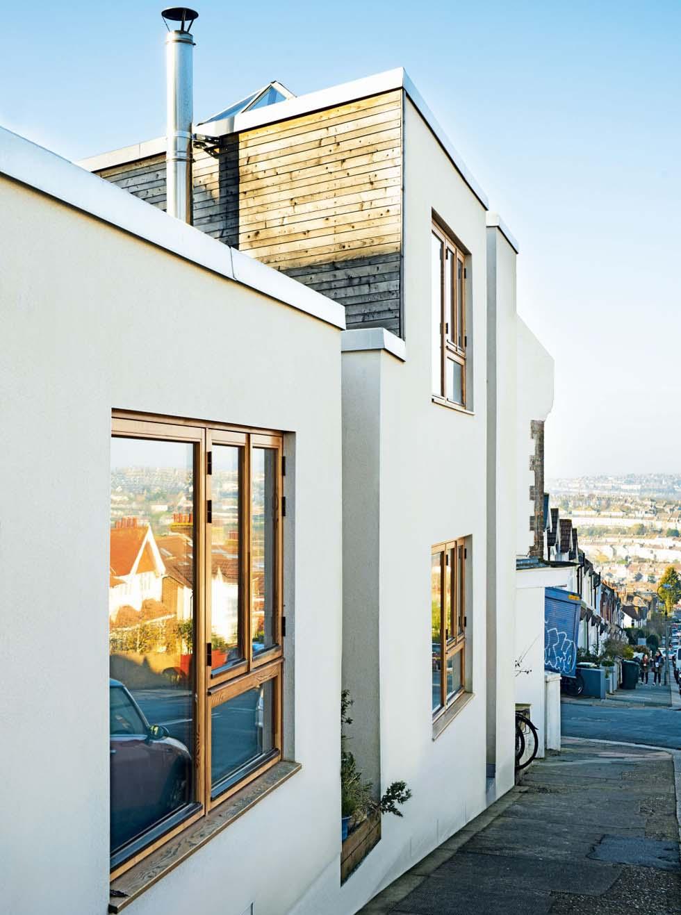Homebuilding Renovating: Brighton Self Build For £90k