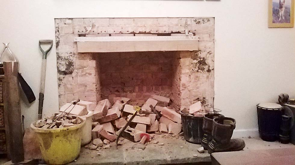 Reinstating Or Removing Old Fireplaces Homebuilding Renovating