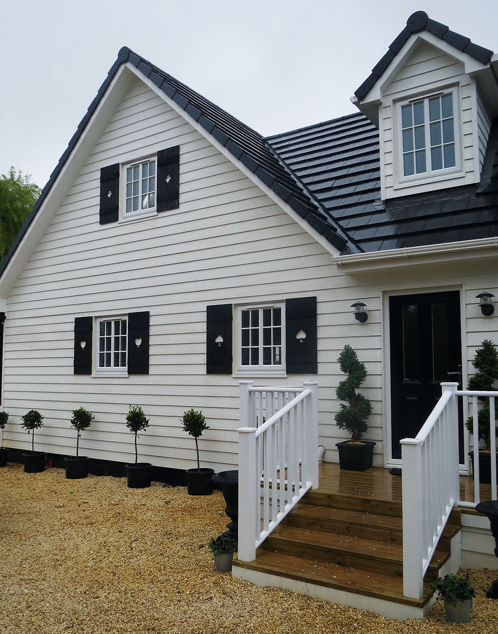 Concrete cladding and other options homebuilding