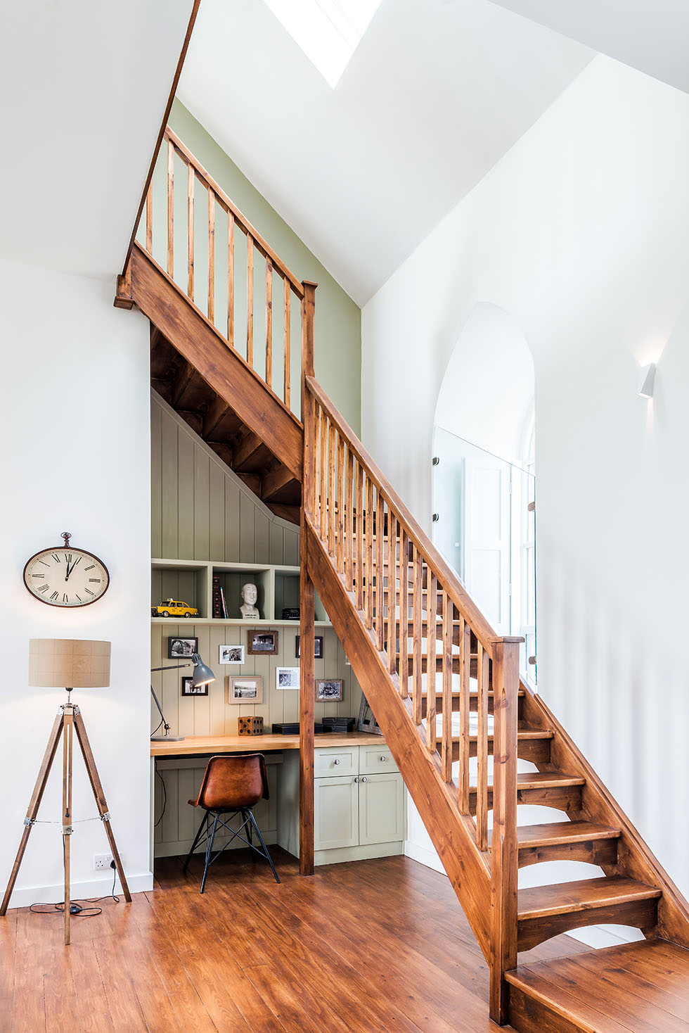 Camenzind-chapel-conversion-office-under-stairs