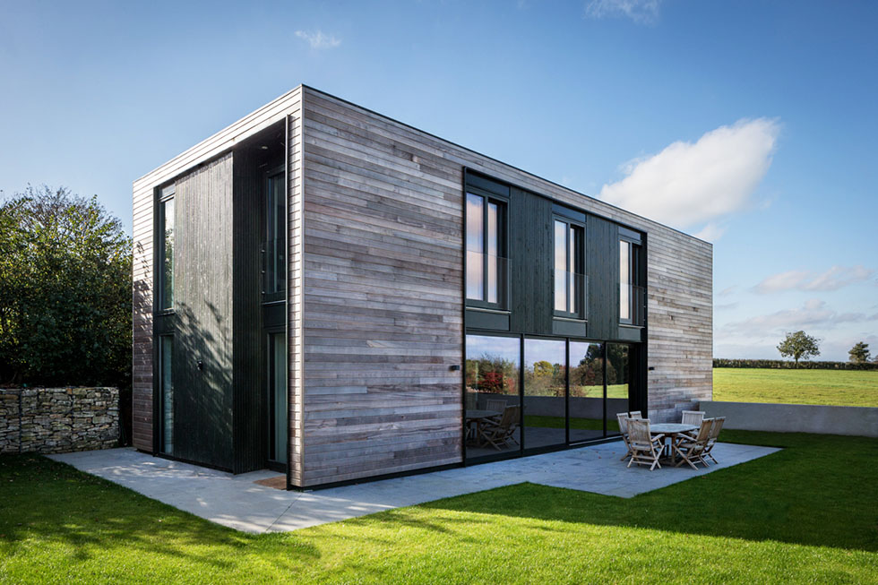 An open plan family home homebuilding renovating for Contemporary self build homes