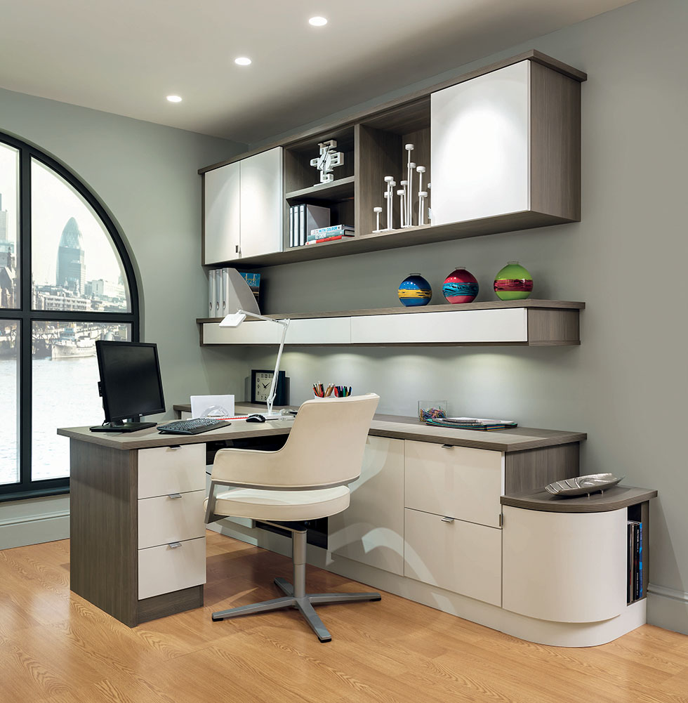 Top home office design tips homebuilding renovating Home study furniture design