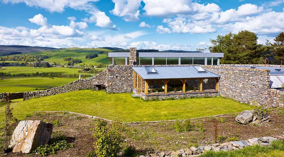 sustainable farmhouse self build