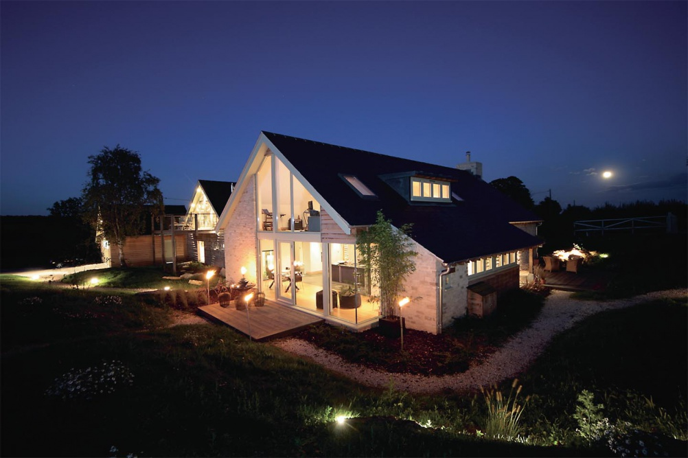 cotswolds modern self build house