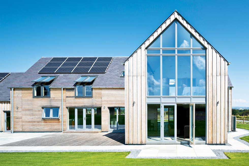 Self builds for every budget homebuilding renovating for Building a house with sip panels
