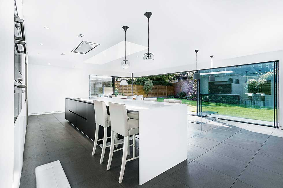 extension to a hampshire home