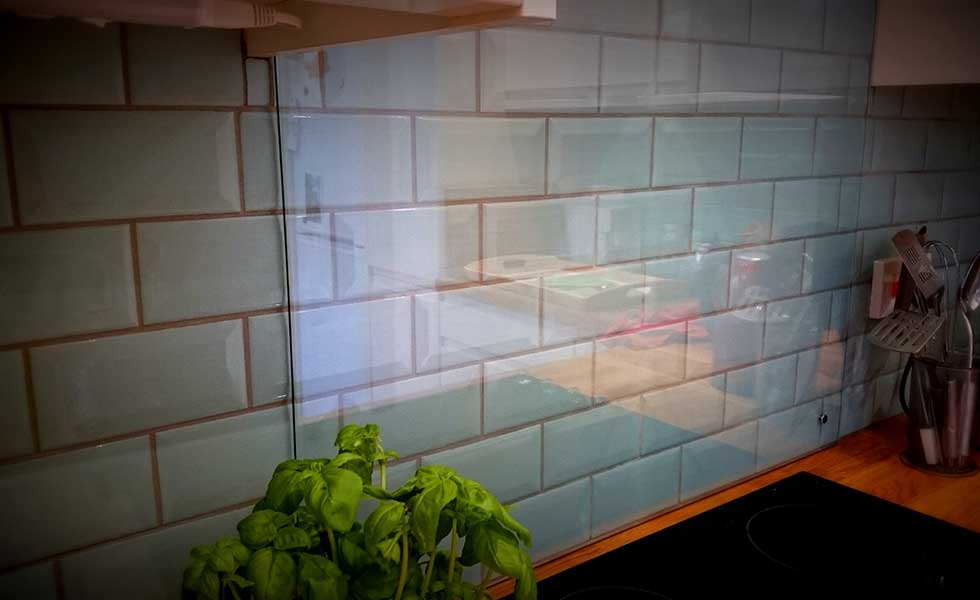 Kitchen Tiles Glass Splashback our kitchen-diner and lounge reveal | homebuilding & renovating