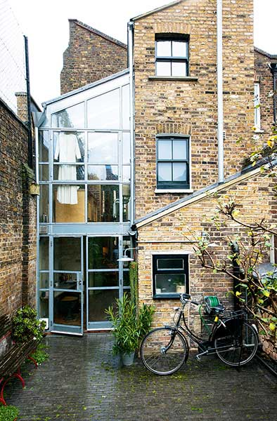 Glazed Extension To A Victorian London Terrace