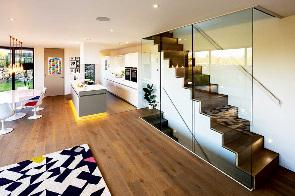 Contemporary Self Build In Green Belt Homebuilding