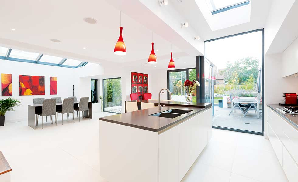 Kitchen Diner Open Plan Edwardian Extension